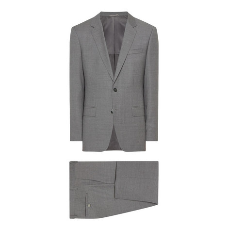 Hutson Gander 2-Piece Wool Suit, ${color}