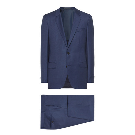 Huge Genius 2-Piece Wool Suit, ${color}