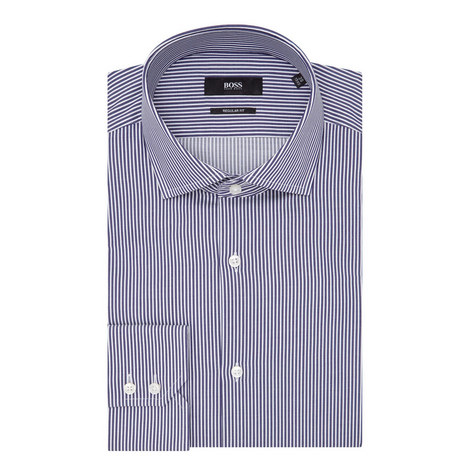 Gordon Bengal Stripe Shirt, ${color}