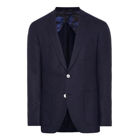 Raye Textured Wool Jacket, ${color}