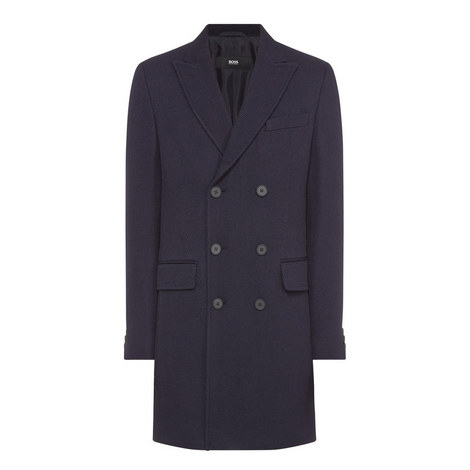 Darvin Single Breasted Coat, ${color}