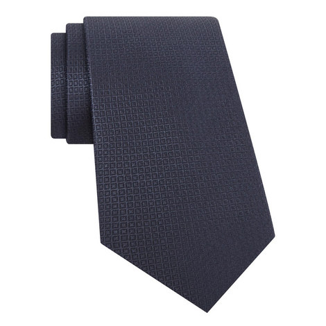 Patterened Silk Tie, ${color}
