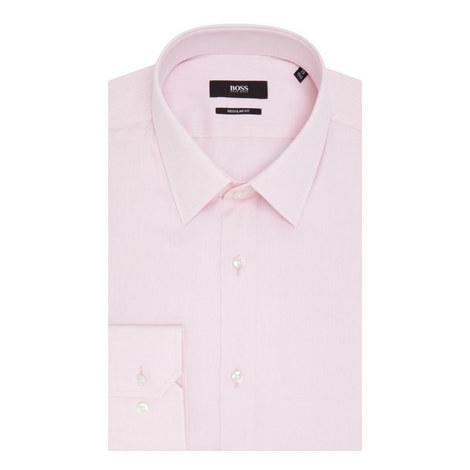 Enzo Stripe Twill Shirt, ${color}