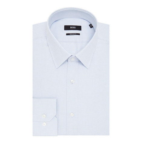 Enzo Micro-Print Shirt, ${color}