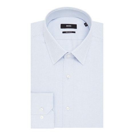 Enzo Micro-Print Shirt, ${color}