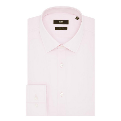 Jenno Slim Fit Poplin Shirt, ${color}