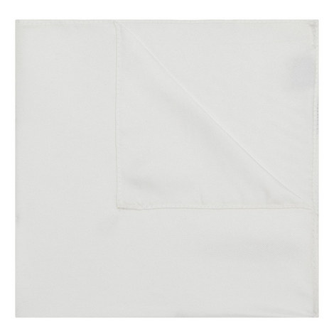 Solid Silk Pocket Square, ${color}