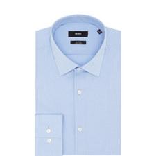 Micro Gingham Slim Fit Shirt