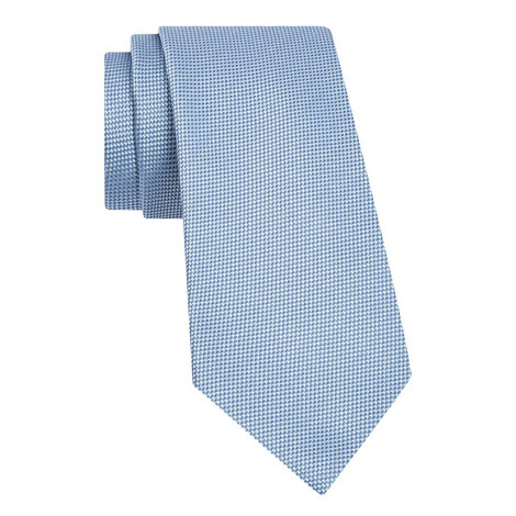 Textured Silk Tie, ${color}