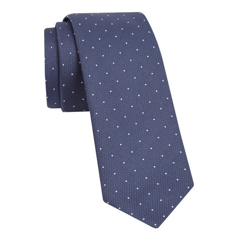 Textured Pin Dot Tie, ${color}