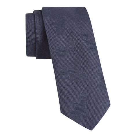 Slim Textured Tie, ${color}