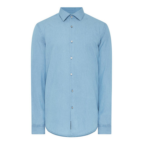 Ismo Chambray Shirt, ${color}
