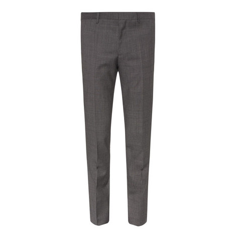 Benso Patterned Suit Trousers, ${color}