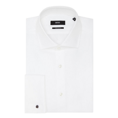 Gardner Textured Shirt, ${color}