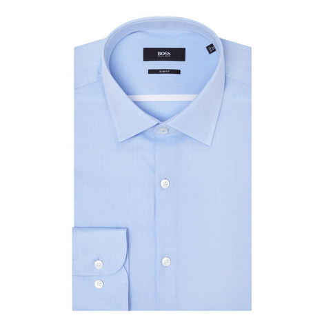 Jerris Slim Fit Twill Shirt, ${color}