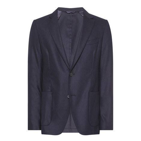 Nold1 Flannel Suit Jacket, ${color}