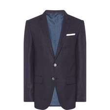 Hutsons Single-Breated Check Jacket