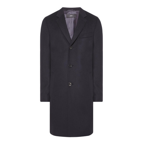 Nye Slim Fit Overcoat, ${color}