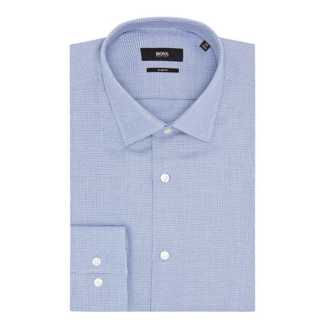 Jenno Micro-Pattern Shirt, ${color}