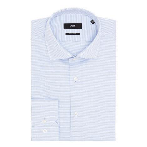 Gordon Micro-Pattern Shirt, ${color}