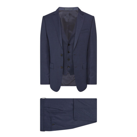 3-Piece Wool Suit, ${color}