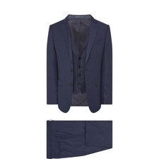 3-Piece Wool Suit