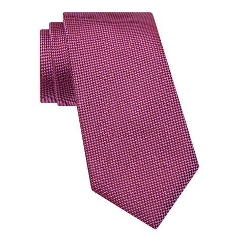 Micro-Diamond Pattern Tie, ${color}