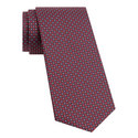 Circle and Diamond Pattern Tie, ${color}