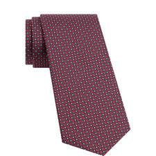Circle and Diamond Pattern Tie