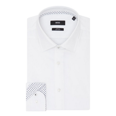 Jesse Anchor Print Trim Shirt, ${color}