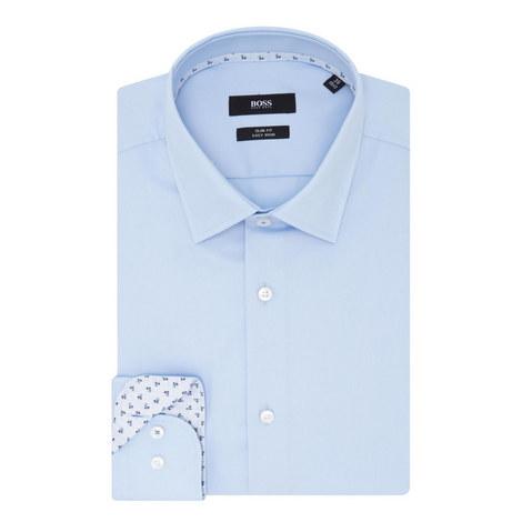 Jesse Floral Trim Shirt, ${color}