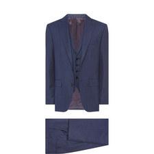 Three-Piece Wool Suit