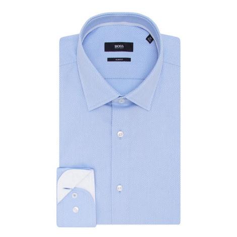 Jesse Textured Trim Shirt, ${color}