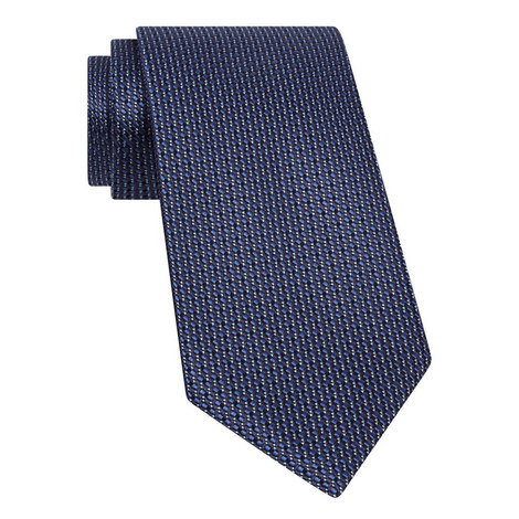 Diamond Print Silk Tie, ${color}