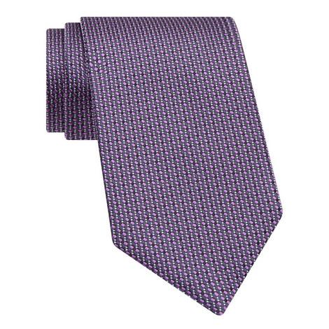 Diamond Print Silk Tie, ${color}