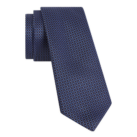 Striped Knitted Tie, ${color}