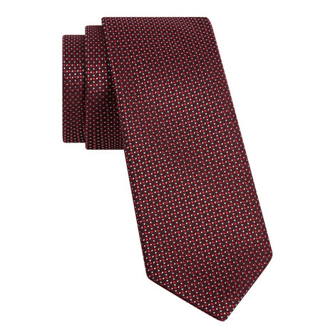 Micro-Dot Print Tie, ${color}