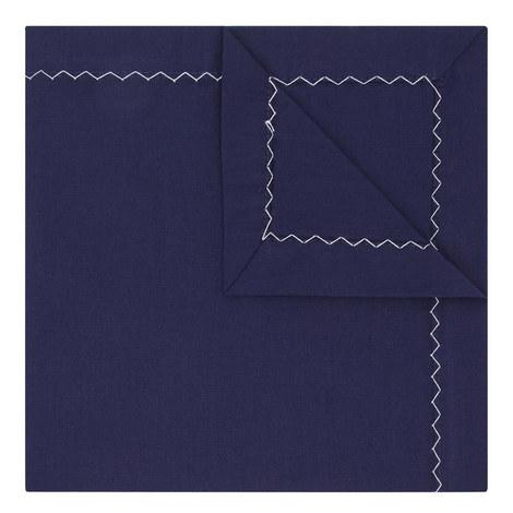 Zig Zag Edge Pocket Square, ${color}
