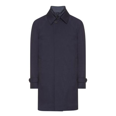 Gadget Water-Repellent Wool Coat, ${color}