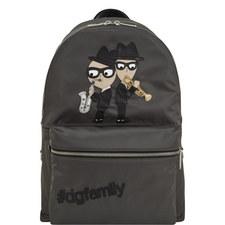 Patch Appliqué Backpack