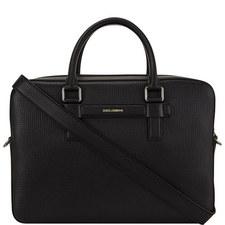 Palmellato Leather Briefcase