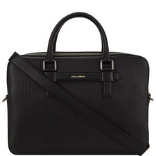 Palmellato Leather Briefcase