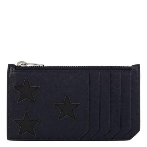 Star Appliqué Cardholder, ${color}