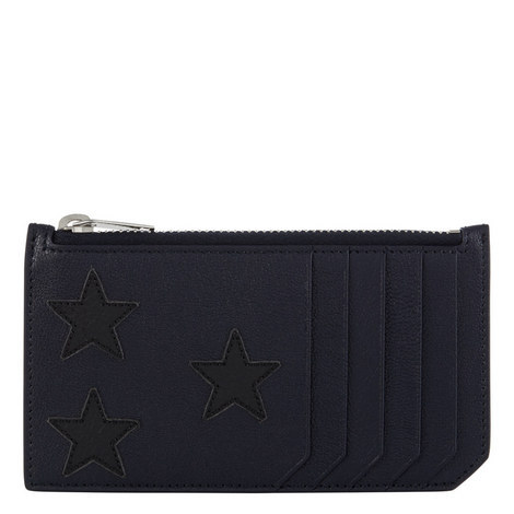 Star Appliqué Cardholder, ${color}