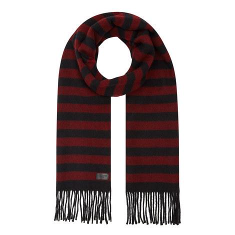 Stripe Wool Scarf, ${color}