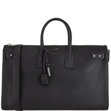 Grained Leather Holdall