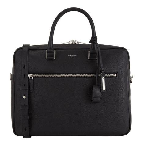 Slim Leather Briefcase, ${color}