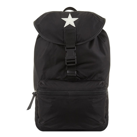 Obsedia White Star Backpack, ${color}