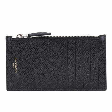 Pebble Grain Zip Cardholder, ${color}