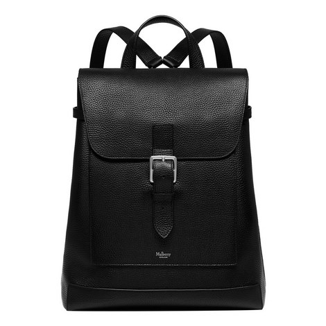 Chiltern Grained Leather Backpack, ${color}